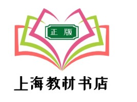上海教材书店logo标志设计