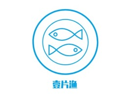 壹片渔店铺logo头像设计