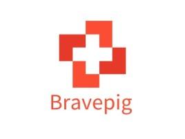 Bravepig品牌logo设计