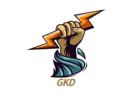 GKDlogo标志设计