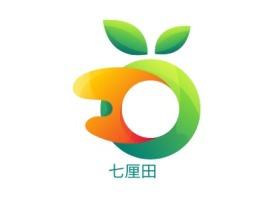 七厘田店铺标志设计