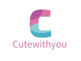 Cutewithyou公司logo设计