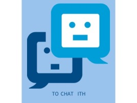 TO CHAT WITH公司logo设计