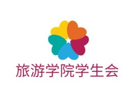 旅游学院学生会logo标志设计