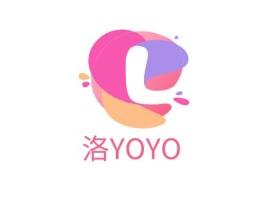 洛YOYO门店logo设计