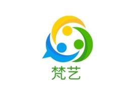 梵艺logo标志设计