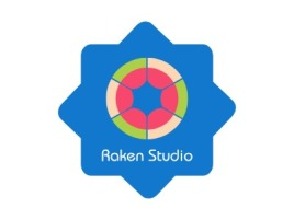 Raken Studio门店logo设计