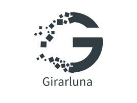 Girarlunalogo标志设计