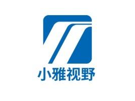 小雅视野logo标志设计