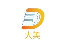 大美公司logo设计