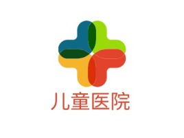 儿童医院门店logo标志设计