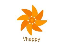 Vhappy店铺标志设计