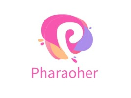 Pharaoher门店logo设计