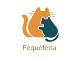 Pequeferia门店logo设计