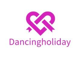 Dancingholiday门店logo设计