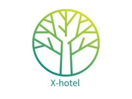 X-hotel企业标志设计