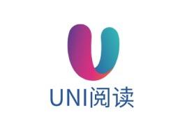 UNI阅读logo标志设计
