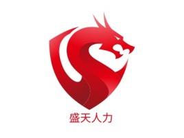 盛天人力公司logo设计