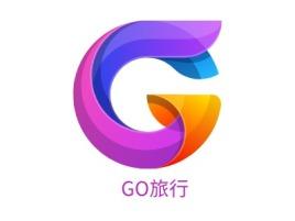 GO旅行logo标志设计