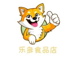 乐多食品店品牌logo设计