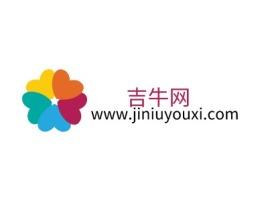 吉牛网logo标志设计