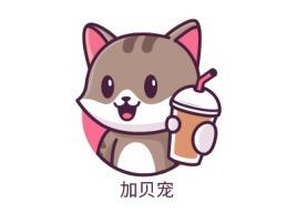加贝宠门店logo设计