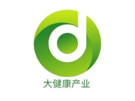 大健康产业公司logo设计
