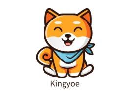 Kingyoe门店logo设计