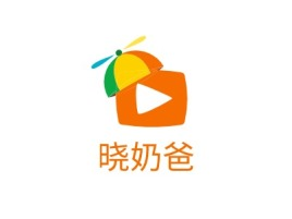 晓奶爸门店logo设计