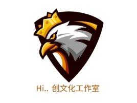 Hi.. 创文化工作室logo标志设计