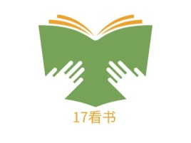17看书logo标志设计