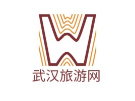 武汉旅游网logo标志设计