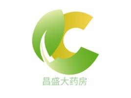昌盛大药房门店logo设计