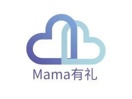 Mama有礼门店logo设计