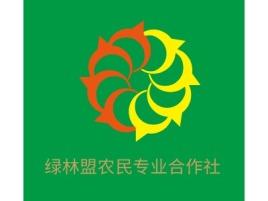 绿林盟农民专业合作社公司logo设计