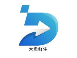 大鱼鲜生品牌logo设计