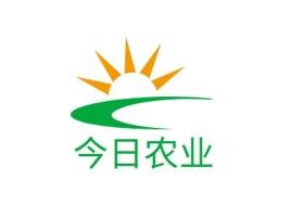 今日农业logo标志设计