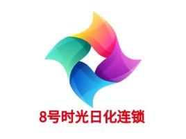 8号时光日化连锁店铺标志设计