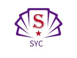 SYC logo标志设计