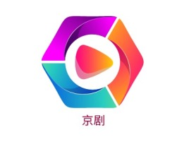 京剧logo标志设计