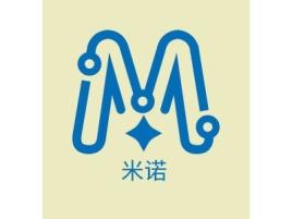 米诺品牌logo设计