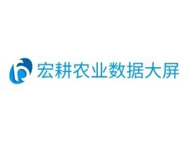 宏耕农业数据大屏品牌logo设计