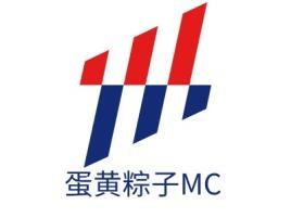 蛋黄粽子MClogo标志设计