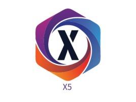 X5公司logo设计