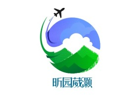 昕园葳灏logo标志设计