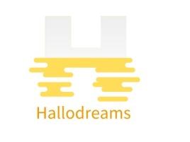 Hallodreamslogo标志设计