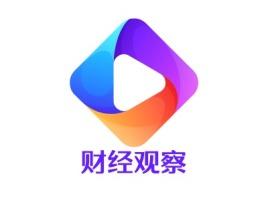 财经观察logo标志设计