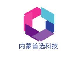内蒙首选科技公司logo设计
