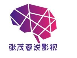 张茂蓉说影视 logo标志设计