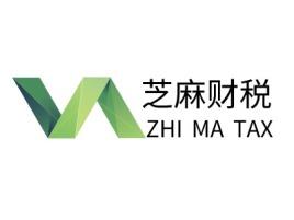ZHI MA TAX公司logo设计